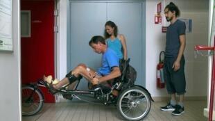 Vance Bergeron et Amine Métani dans le documentaire «Toujours debout».