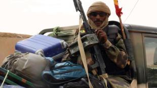 Un soldat malien près de Kidal, en mai 2014.