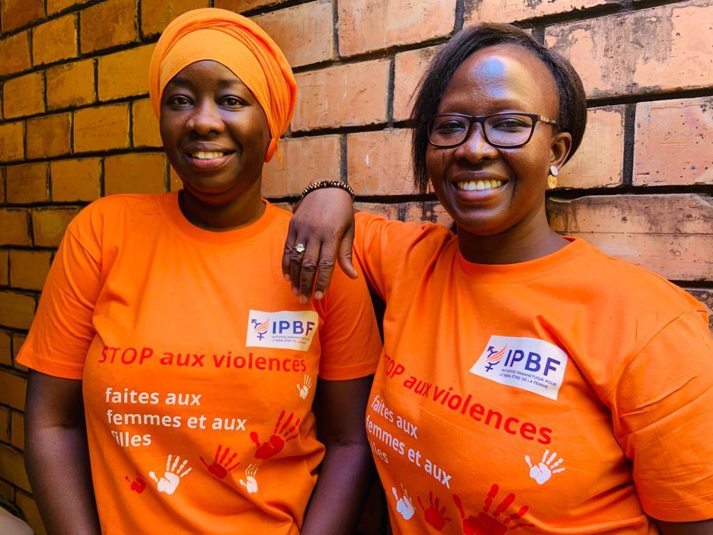 Micheline Kaboré et Annick Koussoubé  Initiative Pananetugri