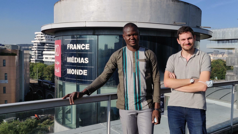 Hadama Diakité et Gaël Flaugère
