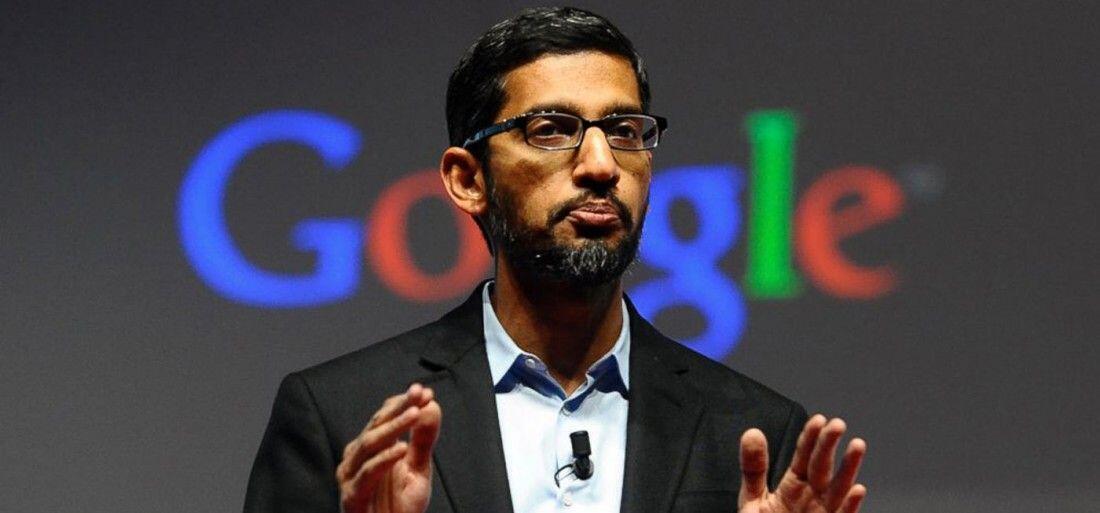 Le patron de Google Sundar Pichai.