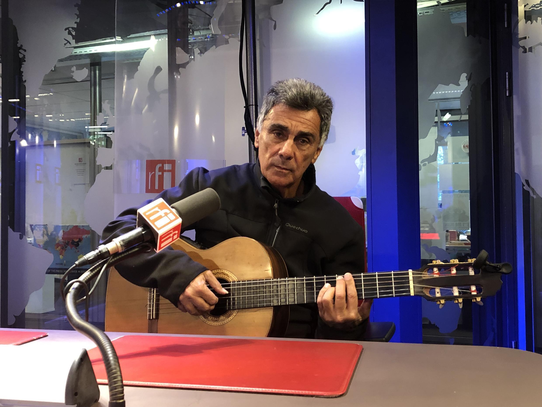 O músico brasileiros Guinga