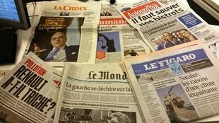 Diários franceses  20.01.2015