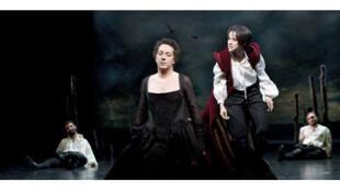 Le comédien Guillaume Gallienne dans la pièce «Lucrèce Borgia» mise en scène par Denis Podalydès.
