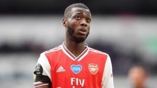 L'Ivoirien Nicolas Pepe a connu une saison difficile avec Arsenal pour sa découverte de la Premier League
