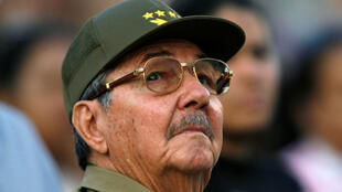 Raúl Castro photographié au cours d'un événement célébrant le 50e anniversaire de l'assaut du palais présidentiel sous le régime de Fulgencio Batista, à La Havane, Cuba, le 13 mars 2007.