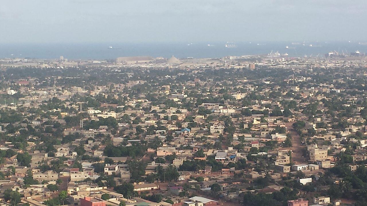 Lomé, capitale du Togo.