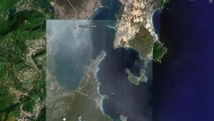 Cảng Cam Ranh theo bản đồ Google