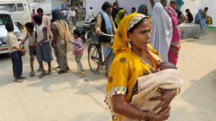 Uttar Pradesh - natalité - famille - enfant - démographie
