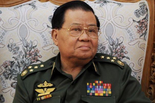 Cựu lãnh đạo tập đoàn quân sự, thống tướng Than Shwe, khi còn tại vị.