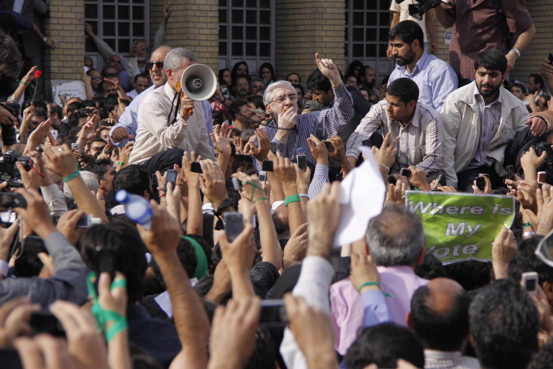 میرحسین موسوی در جریان اعتراضات سال 1388