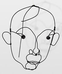 «Portrait de Joan Miró», Alexander Calder (vers 1930).