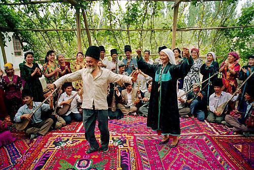 Người Duy Ngô Nhĩ ở Tân Cương, Trung Quốc (ảnh: unesco.org)