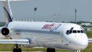 Un MD-83 de Swiftair, le modèle du vol Air Algérie qui s'est écrasé jeudi dans le nord du Mali, avec 116 passagers à son bord.