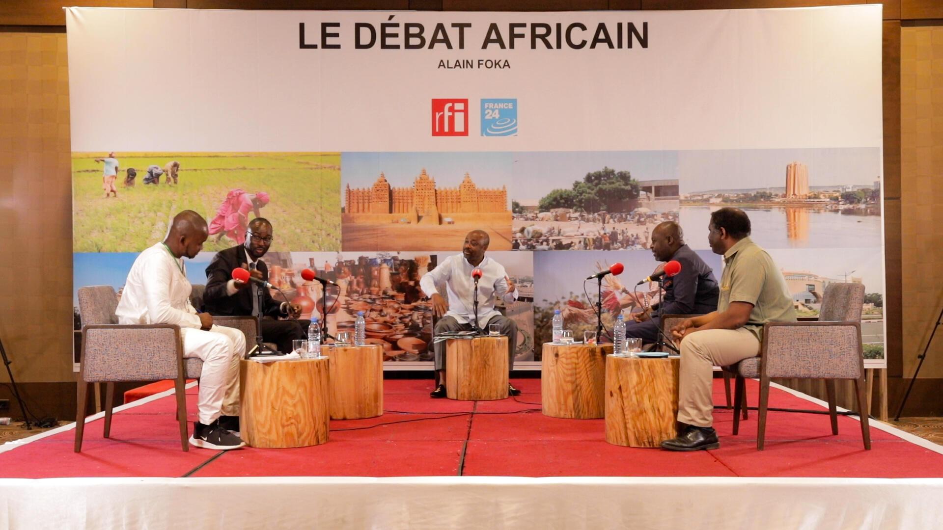 Enregistrement du Débat africain à Bamako (mai 2021)