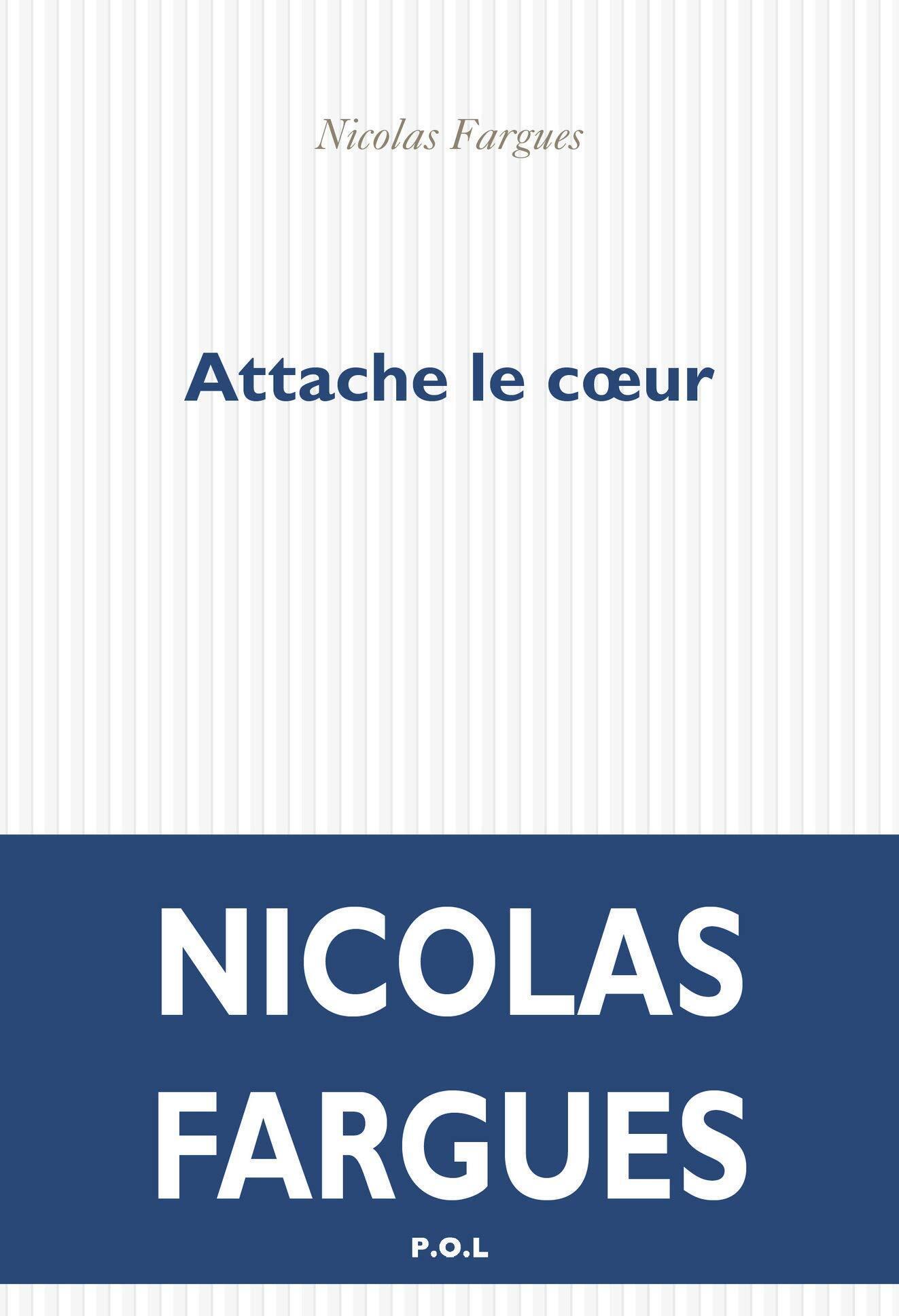 Couverture du recueil de nouvelles de Nicolas Fargues