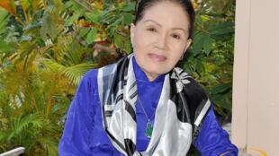 Nghệ sĩ cải lương Út Bạch Lan (1935-2016).