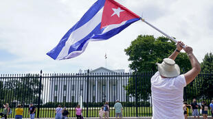 Protests Cuba Washington