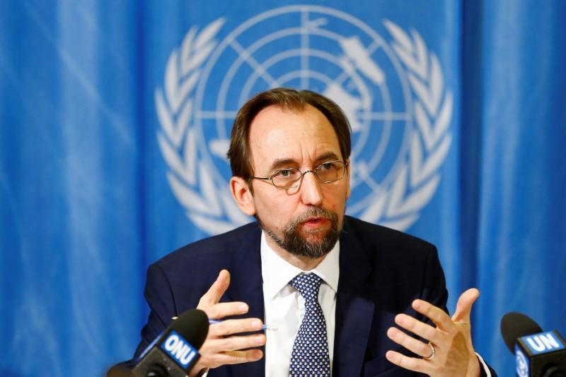Alto Comissário da ONU para os Direitos Humanos, Zeid Ra'ad al-Hussein.