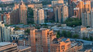 Un quartier de Kiev. (Photo d'illustration)