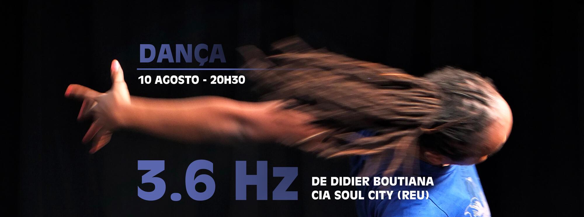 3.6 Hz no Centro cultural franco-moçambicano em Maputo e, em Novembro, na Ilha da Reunião