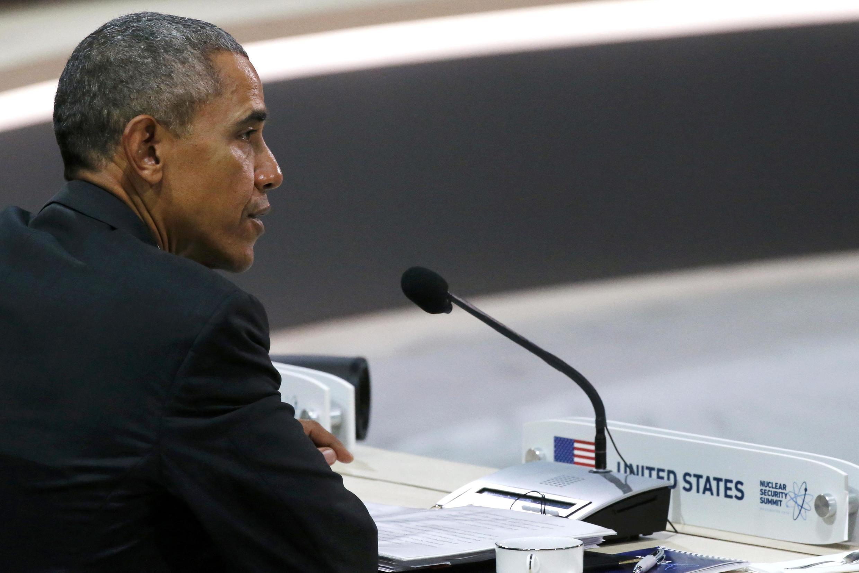 Барак Обама на международном саммите по ядерной безопасности, 1 апреля 2016 г.