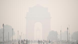 Vue de New Delhi, le 9 novembre 2020 (image d'illustration).