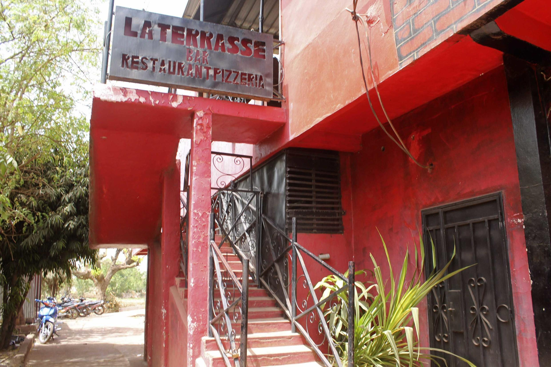 The scene of the attack, La Terrasse in Bamako's Hippodrome district