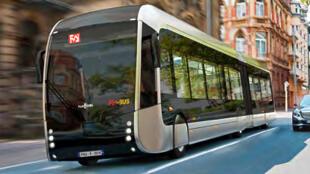 La villle de Pau, dans le sud-ouest de la France, va mettre en place l'an prochain en 2019 une flotte de huit autobus, le fébus, qui rouleront à l'hydrogène.