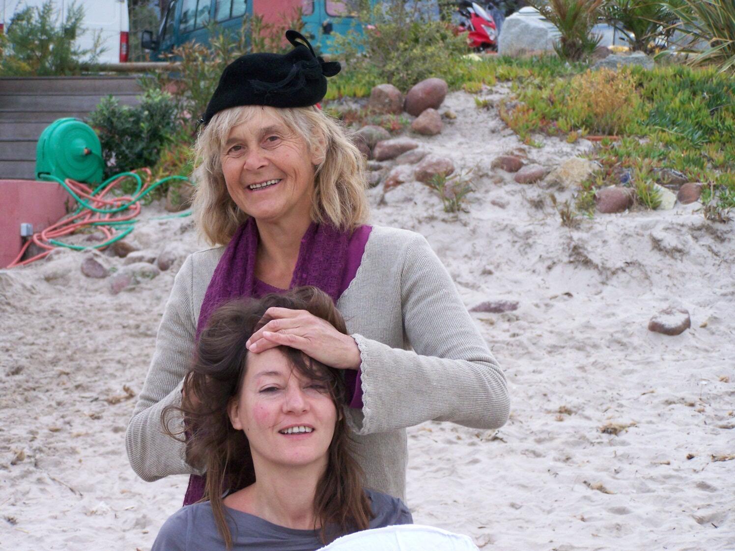 La fée Zarah Vigotte du festival du vent de Calvi