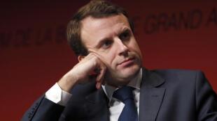 Emmanuel Macron, le 5 décembre 2014 à Paris.
