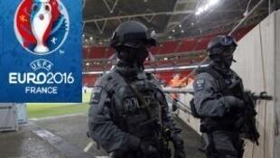 Medidas excepcionais de segurança no Euro 2016