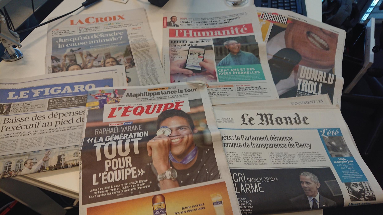 Diários franceses 18.07.2018