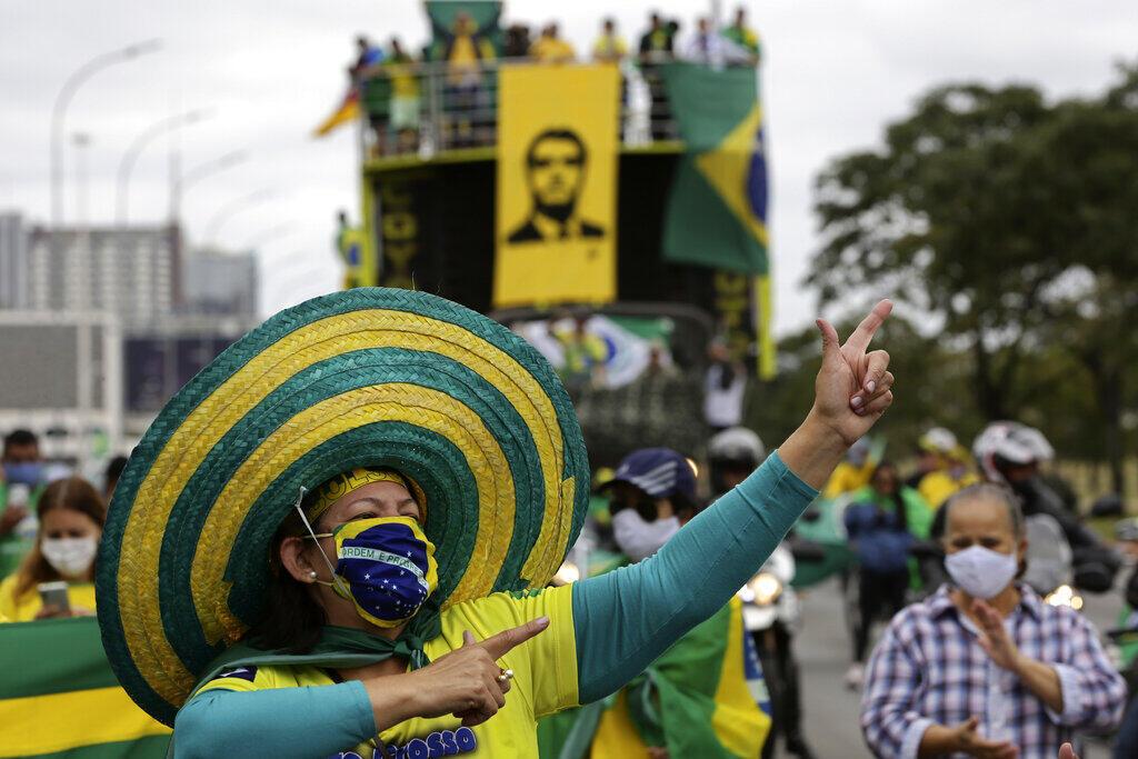 brésil manifestation