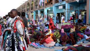 Le marché Capitale à Noukachott, en Mauritanie (photo d'illustration)