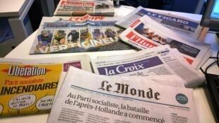 Diários franceses 23/10/2014