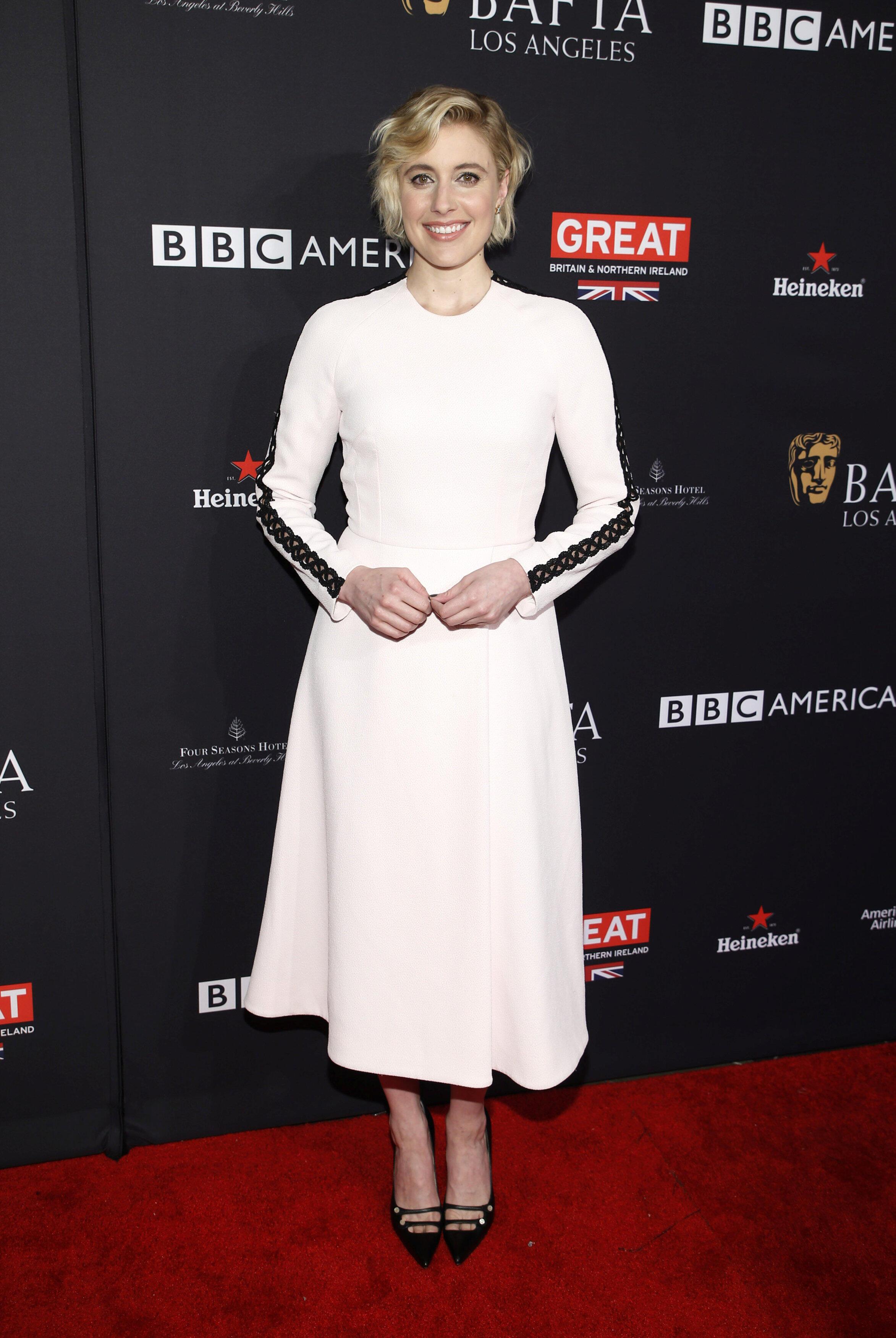 """Greta Gerwig dirigiu o aclamado """"Lady Bird - A Hora de Voar"""" - mas ficou de fora da seleção."""
