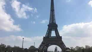 The Eiffel Tower was one of the famous sites that runners passed by during their 26-mile route. The Opéra Garnier and the Place Vendôme, were also added to this year's Paris marathon, 14 April 2019