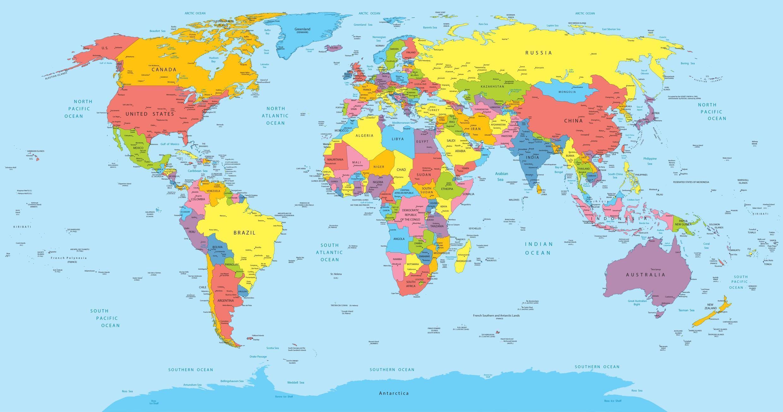 Bản đồ thế giới.