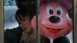 O parque Disney de Xangai abre no dia 16 de junho.