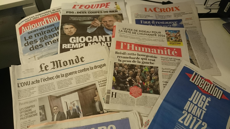 Diários franceses 19.04.2016
