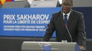 Denis Mukwege, prémio Sakharov 2014