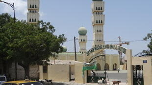 A mosque in Dakara