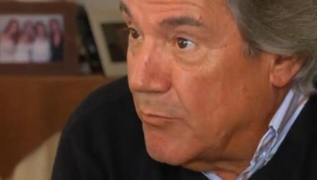 Captura de pantalla de Gonzalo Mosca entrevistado por la televisión uruguaya.