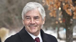 Le ministre canadien des Affaires étrangères, Lawrence Cannon.