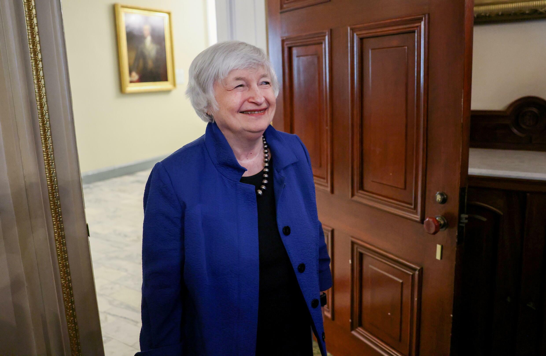 La secrétaire américaine au Trésor Janet Yellen.