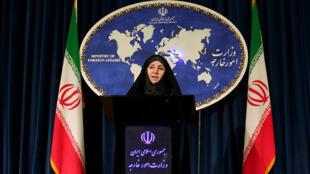 مرضیه افخم، سخنگوی وزارت امور خارجه جمهوری اسلامی ایران
