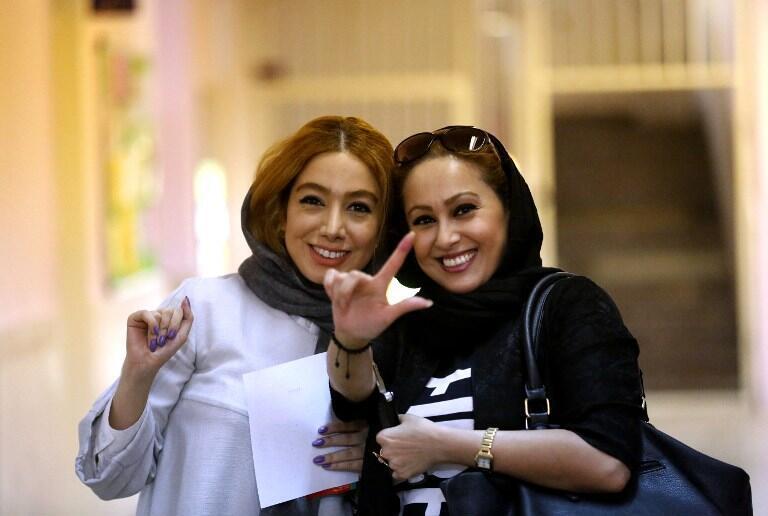 یک حوزه رأیگیری در شمال تهران