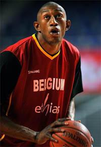 Le pivot belge Didier Mbenga.