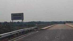 Ponte sobre o rio Mussapa
